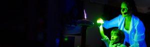 Шоу электричества Тесла шоу