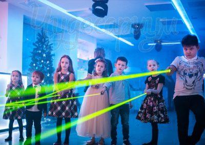 Лазерное шоу в Нижневартовске