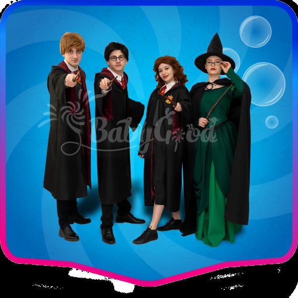 Аниматоры Школа магии Хогвартс